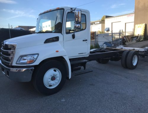 2012 Hino 338 Cab & Chassis – Sold