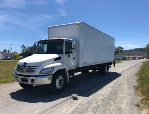 2010 Hino 338 with 26′ Box and Power Lift Gate – $45,000