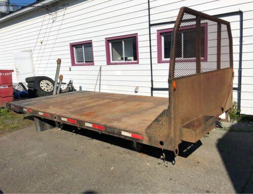 16' Steel Flat Deck – $4750